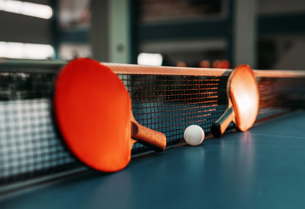 The Effect of table tennis for music broadcaster